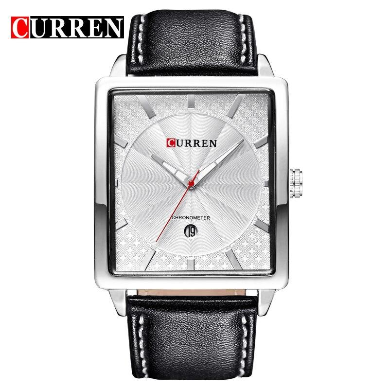 Curren 8117 Luxury Brand Genuine Leather Strap Analog Display Date Mens Quartz Watch Casual Watch Men Watches relogio masculino<br><br>Aliexpress
