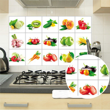 75*45 cm  Kitchen Wall Stickers For Smoke Exhaust Foil Oil Sticker Decal Home Decor Art Accessories Bedroom Decoration