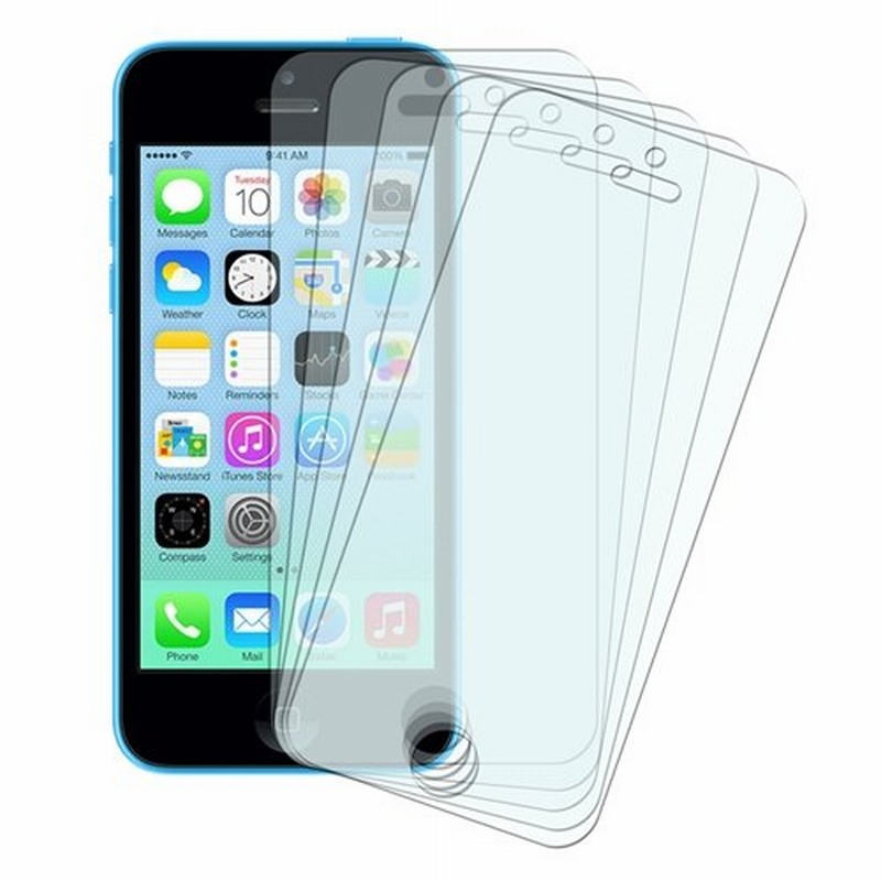 Ascromy 5PCS Screen Protectors for Apple iPhone 5 5S 5C SE 4 4S 6 7Plus 6S 8 Protective Film Cover Protection Phone Accessories(China)