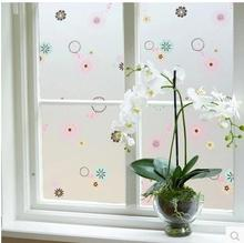 Thick self-adhesive glass foil bedroom window paper kitchen window with plastic bathroom bathroom glass stickers 45 wide(China)