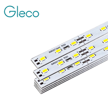 50pcs Super Bright Hard Bar light DC12V 50cm 36 led SMD 5730 5630 Aluminum Alloy Led Strip light For Cabinet(China)
