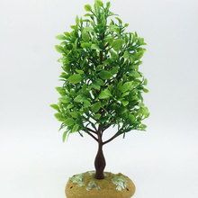 Wedding Decoration Real 2017 New21cm Branch Plastic Home Furniture Sand Table Model Decor Artificial Tree Moss Grass Plant Free(China)