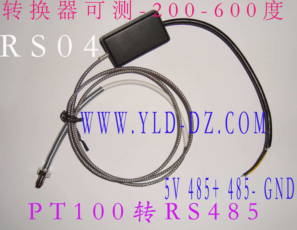 PT100 PT100 temperature measuring instrument, RS04, RS485, the temperature measuring line of the long distance<br>