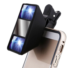 Top Sale Premium 3D Effect Phone Lens Left Right Double Camera Lens for Smart Phone Black 3D Stereo Photography