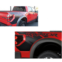 Auto Body Rear Tail Side Trunk Vinyl Decals Raptor Graphics SVT Sticker for Ford F150 2009 2010 2011 2012 2013 2014(China)
