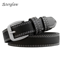 85-115cm New Arrival Summer Style Vintage Leather Belt For Women 2017 Hot Lady Designer Belts Female Wide Ceinture Femme F141