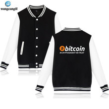 Buy New Bitcoin Cryptograrhy Trust Baseball Jacket Men Women Casual Brand Uniform Virtual Currency Hoodies Sweatshirt for $13.77 in AliExpress store