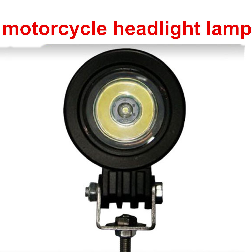 newest motorcycle headlight lamp 12V  IP67 for 4x4 car accessories truck Offroad  10w  motorcycle LED headlight<br><br>Aliexpress