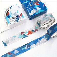 2pcs/lot 1.5cm*3m mountain washi tape DIY decoration scrapbooking planner masking tape adhesive tape label sticker stationery(China)