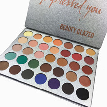 35 Color Jaclyn Hill Eyeshadows Palette Makeup Shimmer Matte Miner Pop Balm Eye Shadow Bronzer Palette Iluminador Maquiagem(China)
