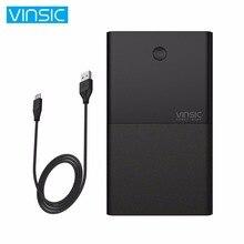 VINSIC 30000MAH Dual USB External Power Bank 30000MAH Large Capacity Notebook Powerbank External Battery Charger Phone