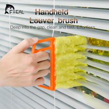 FHEAL 1pc Microfibre Venetian Blind Brush Window Air Conditioner Duster Clean Brush   Household Cleaner Tools