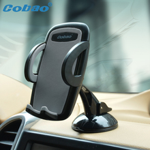 Cobao Universal Car Windshield Mount Holder phone car holder For iPhone SE 6 6s 5S 5C 5G 4S MP3 iPod GPS Samsung Galaxy note(China)