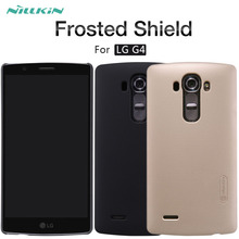 For LG G4 case NILLKIN Frosted Shield matte hard back cover case For LG G4 H818 H815 F500 H810 H818N 5.5'' Gift screen protector(China)
