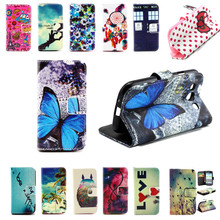 New Arrival Wallet Design with Card Slots leather cell Phone Flip Cases Cover For Samsung Galaxy S3 S III 3 GT-i9300 i9300