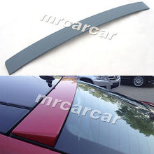 W207 PU Unpainted Grey Primer Rear Roof Window Spoiler For Benz W207 E Class Coupe 2-Door 2010 2011 2012 2013