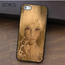 SCOZOS Audrey Kawasaki Art fashion cell phone case cover for iphone X 4 4s 5 5s Se 5C 6 6s 7 8 6&6s plus 7 plus 8 plus #ca87(China)