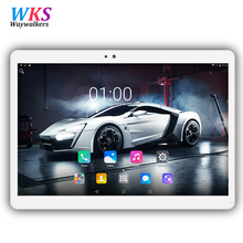 Sales promotion Waywalkers 10.1 inch Android 7.0 MT8752 tablet pc octa core 4G RAM 32/64G ROM 1920x1200 IPS 5MP Gift tablets pcs(China)