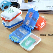 Weekly Sort Folding Vitamin Medicine Tablet Drug Pill Box Case Portable Container Organizer(China)