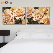 monopoly canvas painting Modular pictures flower painting patterns setting spray image modern tableau peinture sur toile art