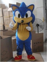 2015 New  free shipping  Newest Cartoon Doll Performance clothing hedgehog Sonic Mascot clothing