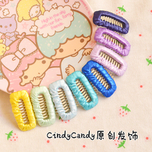 Wide plain needle comb clip BB hairpin hair clip Tactic leave hair clip to Yorkshire headdress pet accessories 50pcs(China)
