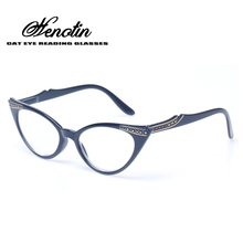 Brand Fashion Cat Eye Glasses Retro Vintage Female Spring Hinge Reading Glasses Men Women Presbyopia Glasses