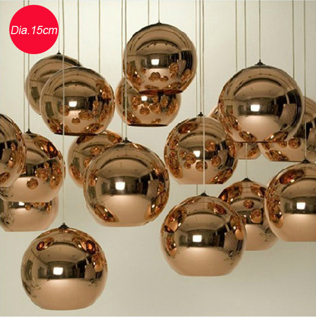 Modern Home Single Head  Ball Dining Room Decoration Pendant Lamp Cafe Light Cloth Store Lighting Free Shipping<br>