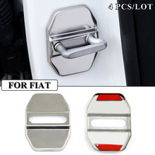 Car Styling Stainless Steel JDM Car Covers Door lock Cover Case For Fiat Viaggio Ottimo Freemont Bravo Accessories Car-Styling(China)