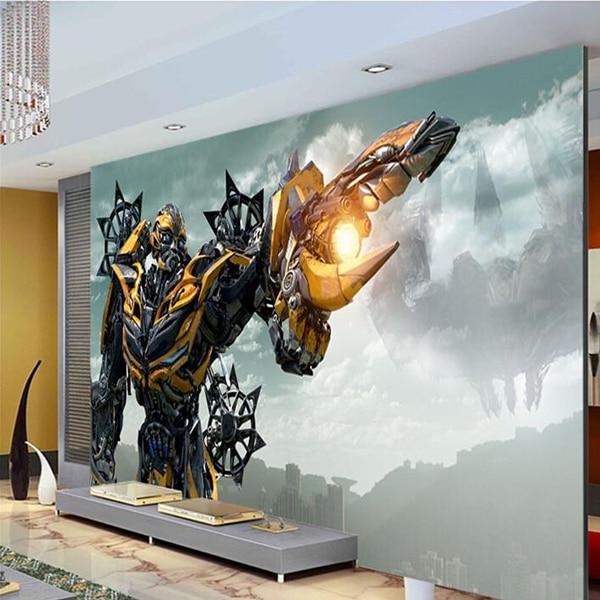 Transformers Blebee Wall Mural Large Art Photo Wallpaper ...