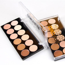 MISS ROSE Makeup Base Corrector 12 Colors Concealer Powder Contour Whitening Cream Foundation Palette for Wrinkle Dark Circle