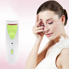 Fashion Electric Heated Eyelash Curler Battery Operated Makeup Eye Lash Curling Tool Top Quality Fashion