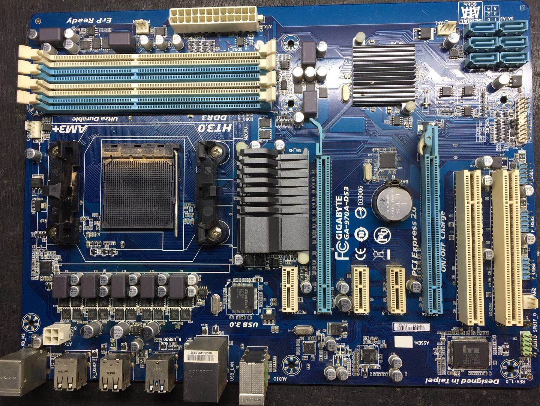 Интернет магазин товары для всей семьи HTB1LkLaXJzvK1RkSnfoq6zMwVXaH Разъем AM3 + для AMD 970 гигабайт GA-970A-DS3 100% Оригинал материнская плата DDR3 DIMM USB3.0 32G гигабайт 970A-DS3 Desktop SATA III