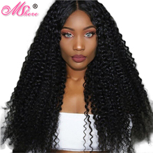 Mshere Monogolian Kinky Curly Hair Extension Remy Hair 100% Human Hair Weaving Machine Double Weft Nature Color One Bundle