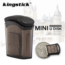 Kingstick Pen Drive Super mini USB Flash Drive Small cool bean pendrive 4GB 8GB 16GB tiny memory Stick 32GB 64GB storage U disk