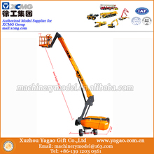 1/40 Diecast Metal Construction Models for Dingli Self-Propelled Telescopic Boom Lift, Work Platform Scale Model(China)