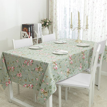100% Cotton Table Cloth American Pastoral Style Print High Quality Tablecloth Table Cover manteles para mesa Free Shipping