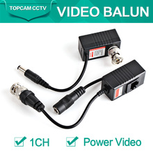CCTV Camera Video Balun Transceiver BNC UTP RJ45 With Video And Power Over CAT5/5E/6 Cable ForHigh Definition CVI/TVI/AHD Camera