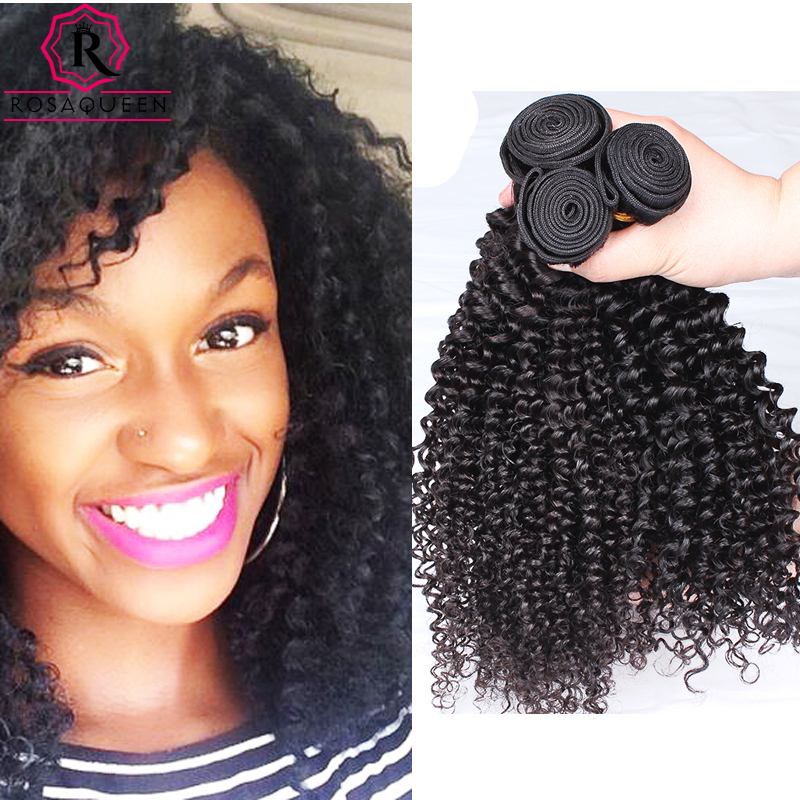 Peruvian Human Hair Extension 1PCS Peruvian Kinky Curly Virgin Hair 7A Curly Weave Hair Bundles Rosa Queen Hair Products<br><br>Aliexpress