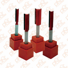 Dia (6mm/8mm/10mm/12mm) Double Flute Straight Bit Shank 1/4 Inch Carbide Woodworking Straight Router Bit Set