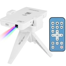 Multimedia DLP Laser Projector Wireless Wifi Mini for IOS/ Android/ Windows/ Mac OS System Device Projector P to P