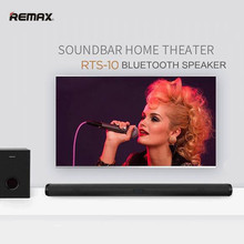 Remax RTS-10 Soundbar Home Theater Wireless Bluetooth speaker Home Theater System(China)