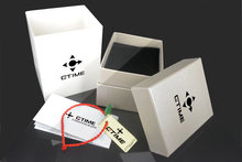 CTIME Original Watch Box Fashion Square paper Case box