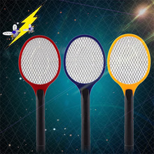 Net Dry Cell Hand Racket Electric Swatter Home Garden Pest Control Insect Bug Bat Wasp Zapper Fly Mosquito Killer Hot Sale(China)