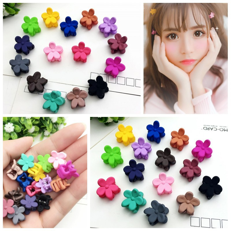 5x//Set Plastic Cute Hair Clip Baby Kids Girls Hairpins Hair Accessories Randomly