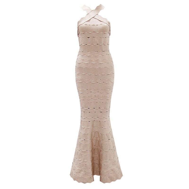 ShejoinSheenjoy 2018 Sexy Halter Neck Long Bandage Dress Vestidos Nightclub Hollow Out Celebrity Party Dresses Women Maxi Dress (15)