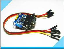 MAX3232 MAX232 RS232 To TTL Serial communication converter Module 5V/3.3V+Jump Cables(China)