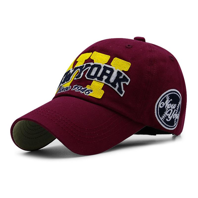 SNP Black white New York baseball cap bone snapback cap brand baseball cap gorras Black hats for men ny casquette hat wom 6