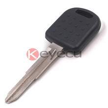 Replacement Transponder Key Fob With Chip 4D65 for Suzuki Alto Ignis Jimny Uncut Blank Blade
