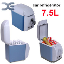 Free Shipping Car Mini Fridge Cooler And Heating Multi-Function Portable Car Freezer  High Quality Car Fridge